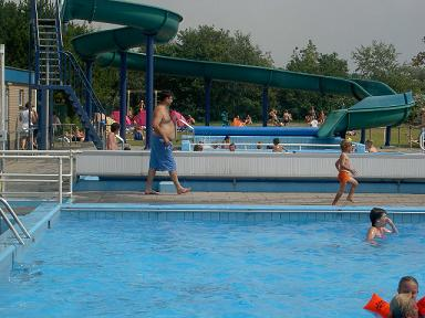 Duikplank zwembad